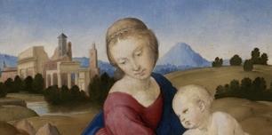 Raffaello_Madonna col Bambino_circa 1508_Budapest_Museo di belle Arti