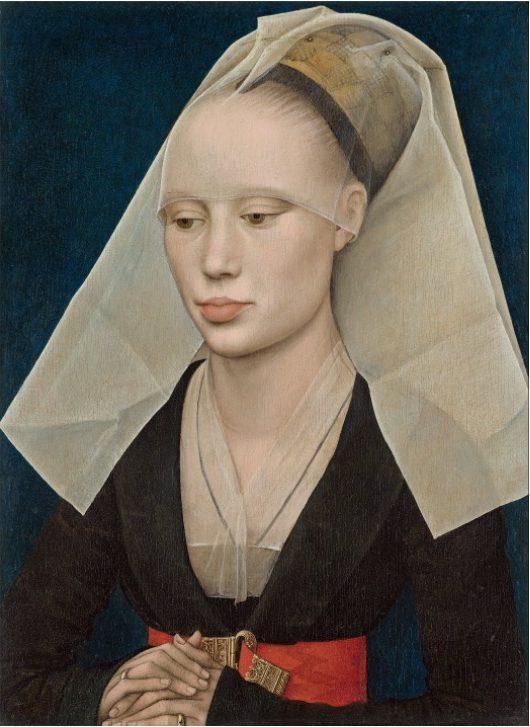 Rogier van der Weyden, Ritratto di donna, 1460 circa. National Gallery of Art, Washington