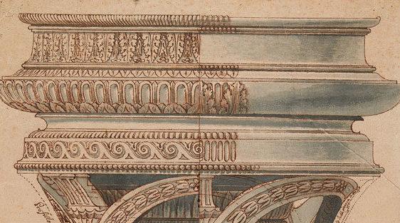 Giuseppe Levati-Giuseppe Maggiolini 1784_progetto tripode_CorsiArte
